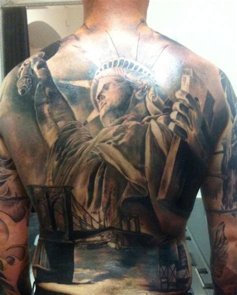 tattoo parlor helsinki awesome back piece by artist jari ja maria kajaste from