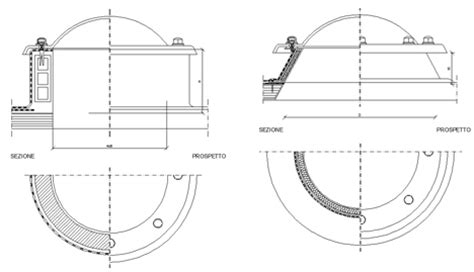 lucernari a cupola prezzi lucernario a cupola dwg fibra di ceramica isolante