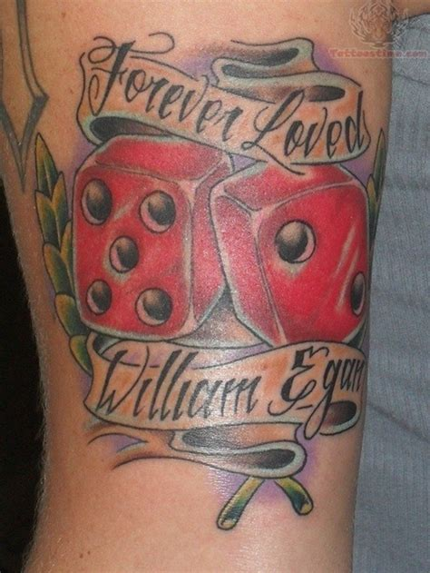 dice tattoo design 30 best dice designs to try with