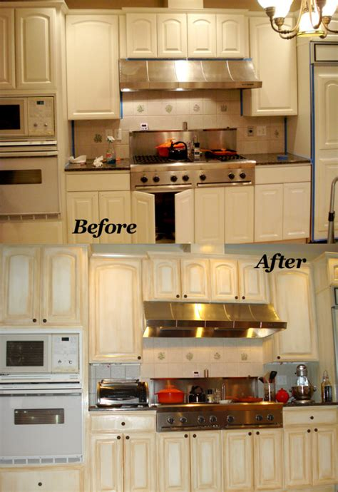refinish laminate kitchen cabinets painting formica cabinets before and after pictures