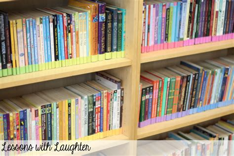 lessons with laughter classroom library organization