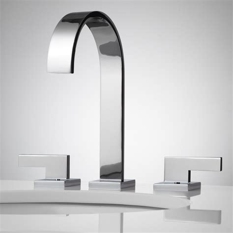 Ultra Modern Bathroom Faucets 1000 Images About Faucets Shower Heads On Chrome Finish Waterfall Shower And