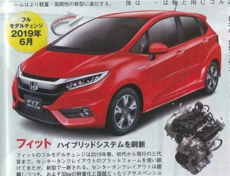 2019 Honda Jazz by 2018 Honda Jazz To Get Revised Front Fascia Inspired By