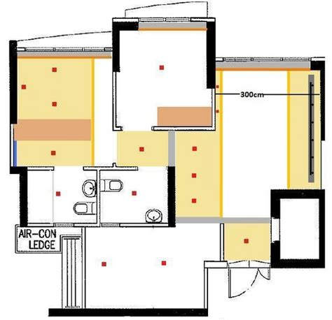 Room Floor Plan by 3 Room Floor Plan Actual Size Image