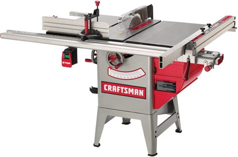 sears hybrid table saw tool test craftsman s hybrid table saws popular