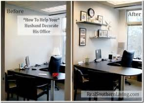 small office decoration help your husband decorate his boring small office officemakeover
