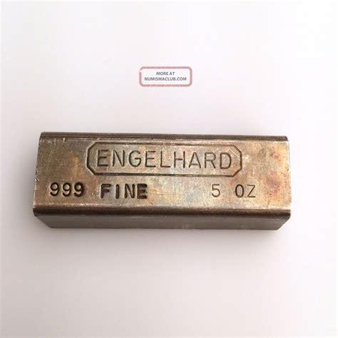 1 Ounce 999 Silver Bar Value - silver value engelhard 999 silver value