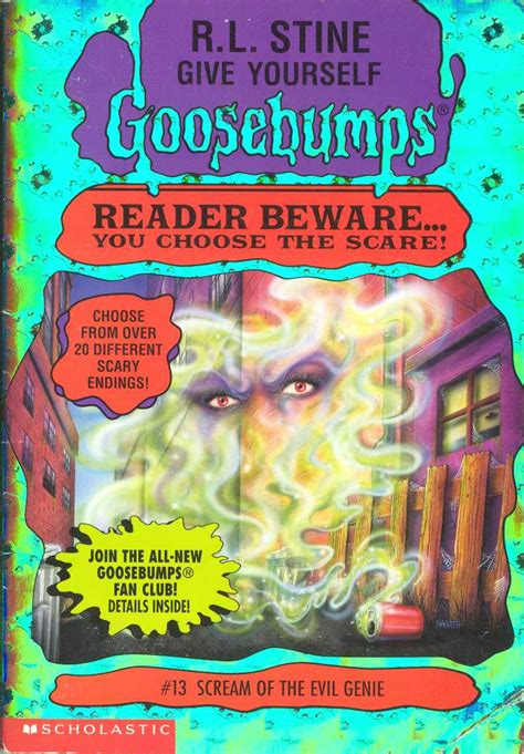 goosebumps books list with pictures give yourself goosebumps