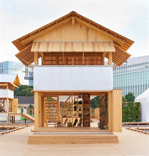 vision house muji x atelier bow wow s rice field office for house vision