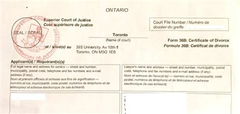 Divorce Records Ontario Sle Page Whiteside