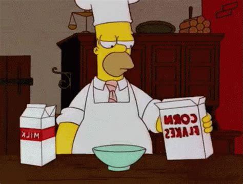 kitchen gif homer gif homer cook gifs say more