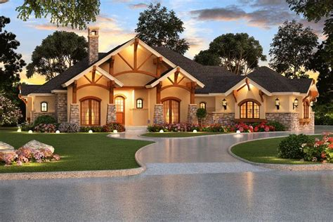 one story home designs craftsman plan 3 584 square 4 bedrooms 4 bathrooms 5445 00067