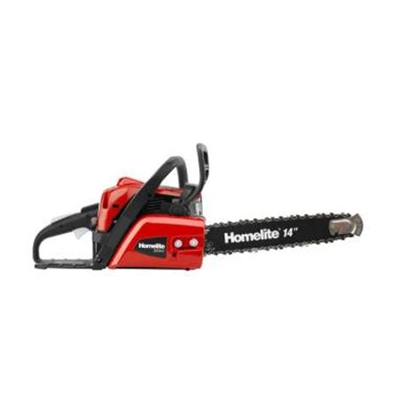 homelite 14 in 42cc gas chainsaw