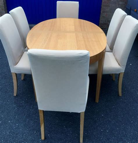 oval wood dining table extending oval dining table and 6 chairs ikea table