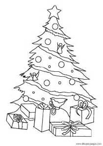 dibujo de arbol navidad 007 dibujos y juegos para