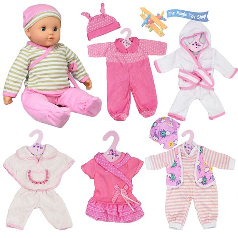 doll clothes new born baby doll set of 6 12 16 quot baby dolls