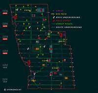 The Division Farming Map  Tech Chests Bosses Routes