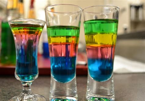 layered rainbow shots how to make a layered shot