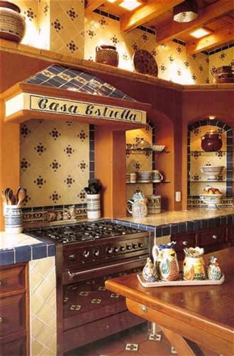 Mexican Style Kitchen Decor by Mexican Kitchen Design Future Home