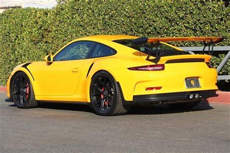porsche gt3 rs yellow signal yellow 2016 porsche 911 gt3 rs german cars for