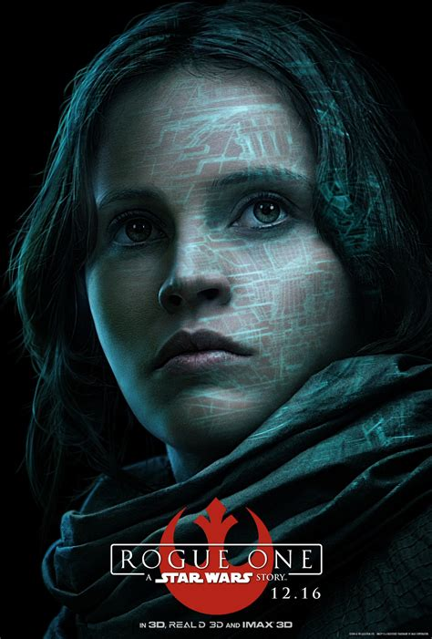 rogue one a star rogue one a star wars story character posters revealed