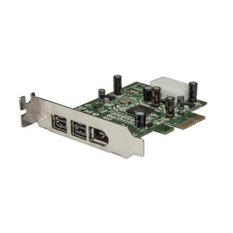 porta ieee 1394 firewire card low profile 1394a 1394b startech