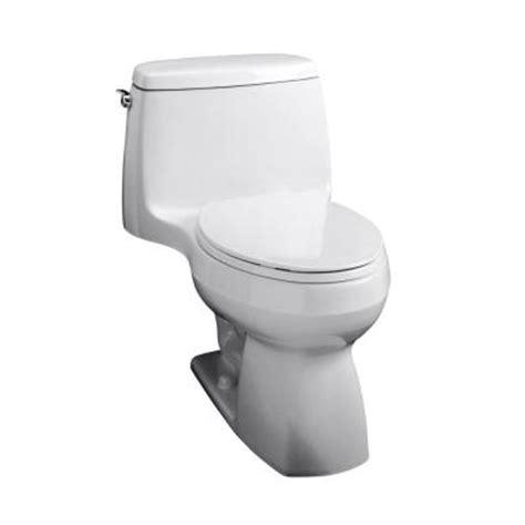 kohler santa rosa 1 1 6 gpf elongated toilet in