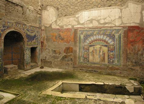 a pattern language for houses at pompeii herculaneum and ostia herculaneum visitpompeii