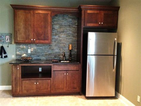 kitchenette designs basement kitchenette with gorgeous stacked stone