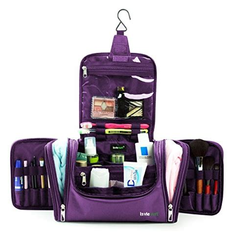 Bathroom Travel Kits Lavievert Toiletry Bag Makeup Organizer Cosmetic Bag