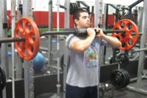top squat bar front squats made easier t nation