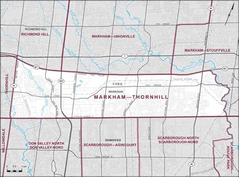 markham thornhill maps corner elections canada online