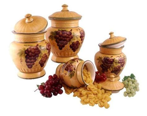 wine kitchen canisters 17 best images about kitchen grapes wine on
