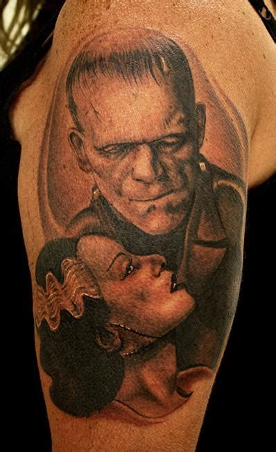 bride of frankenstein tattoo designs frankenstein and the of frankenstein by daniel