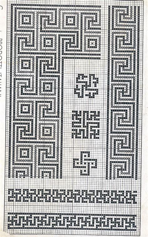 cornice a punto croce cornici 072 schema da ricamare a puntocroce