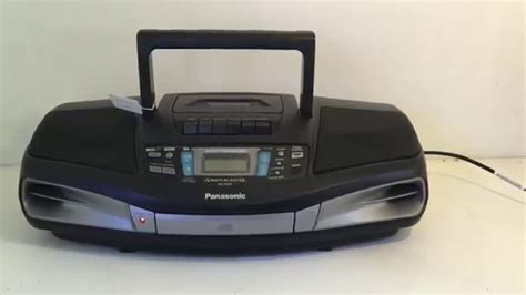 radio cd cassette panasonic rx ds28 radio cassette cd player boombox