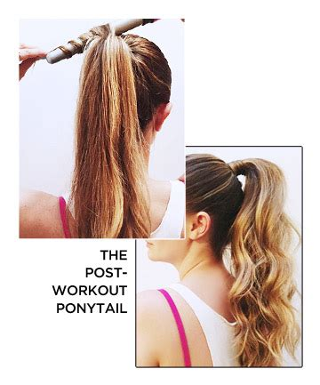 ponytail hairstyles games the post workout ponytail 25 ways to step up your