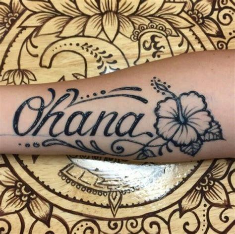 hawaiian family tattoo designs ohana means family families henna and