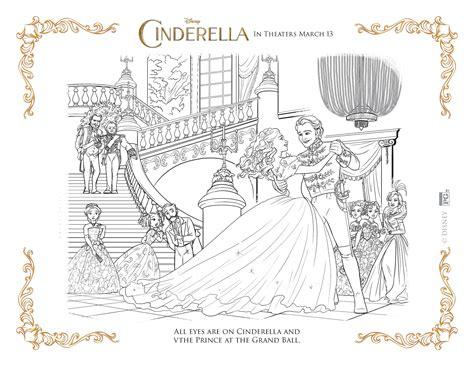 Galerry cinderella coloring pages pdf