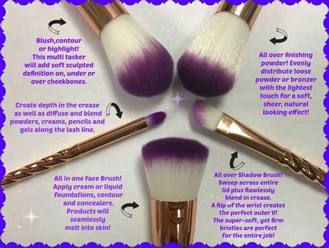 Limited Edition I Makeup Unicorns Terlaris vegan unicorn brushes limited edition