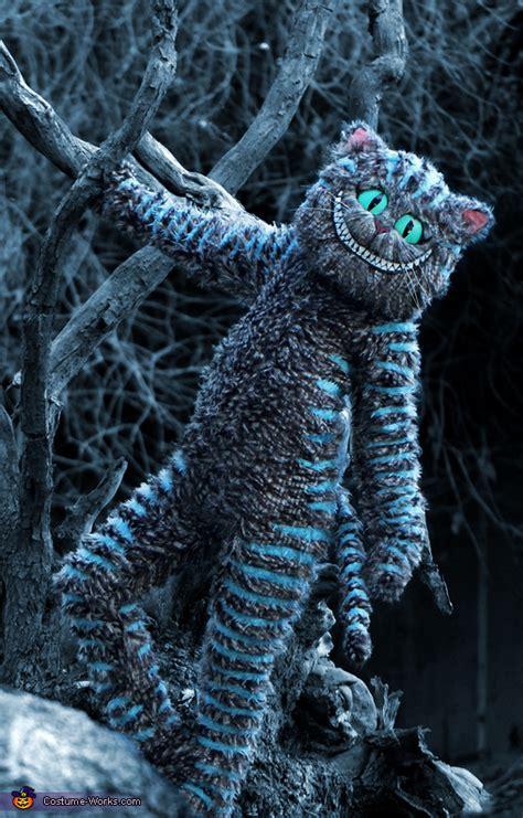tim burtons cheshire cat costume photo