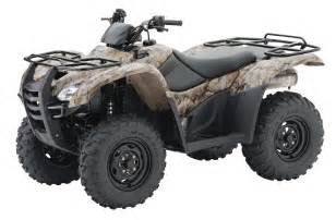 Honda 4wheeler Four Wheelers Pictures Camouflage Honda Rancher 420 Four