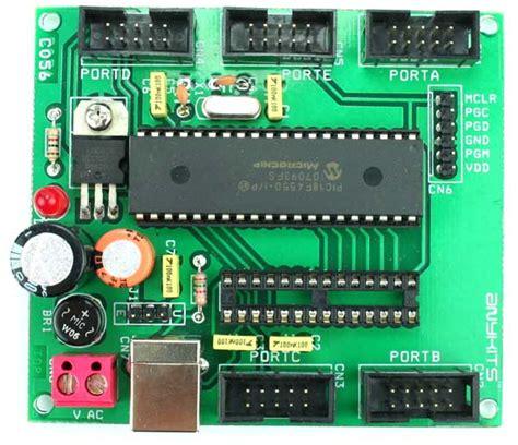 pin  pin picf usb development board electronics lab