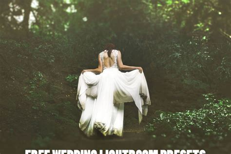 5 FREE WEDDING LIGHTROOM PRESETS ? Creativetacos