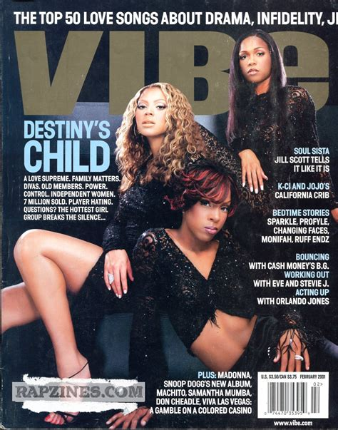 Beyonce On May Cover Of Vibe by Vibe Magazine 2000 2007