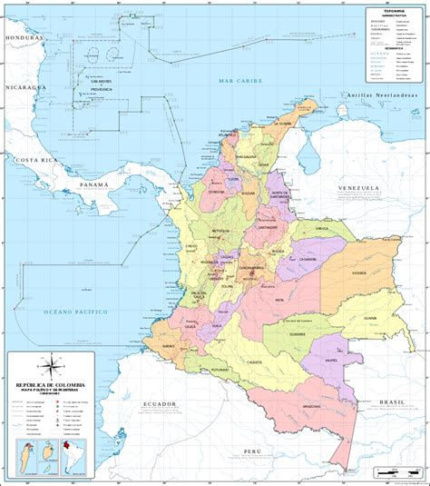 accidentes geograficos de america a political map of the world
