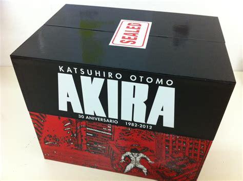 libro akira 35th anniversary box la edici 243 n 30 aniversario de akira sube de precio