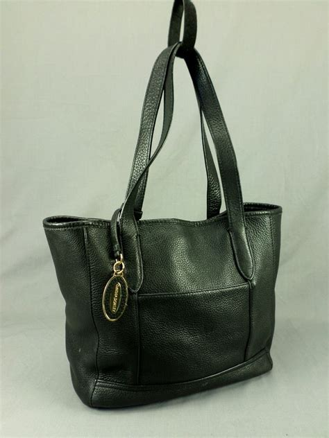Cynthia Rowleys Leather Tote From Neiman by Cynthia Rowley Leather Tote Handbag Pebbled Shoulder Purse