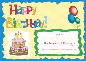 Birthday Gift Certificate Template For Word by Wonderful Birthday Gift Certificate Template