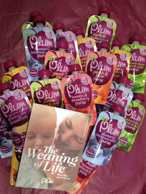 Newborn Giveaway - weaning twins plum baby review